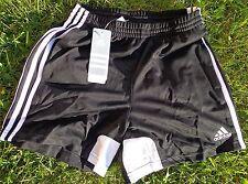 Tiro 11 Sport Soccer short pantalones cortos Adidas nuevo para señora + talla S + Negro