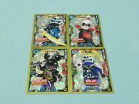 Lego Ninjago Serie 5 Trading Card  4 x Limitierte Auflage LE5 LE6 LE7 LE8