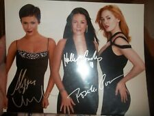 CHARMED CAST AUTOGRAPHED 7 in X 10 in PHOTO WITH COA HOLLY COMBS MILANO McGOWEN
