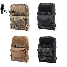 Outdoor Military Hydration Pack Backpack Tactical Molle Pouch Paintball Hiking