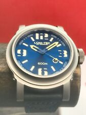 Lum-Tec Abyss 600m-2 Automatic Limited Edition 48mm Blue Dial Stainless Steel