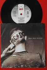 """AC/DC ARE YOU READY/GOT YOU BY THE BALLS 1990 RARE UK PROMO 7"""" PS"""