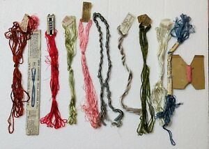 Lot of Vintage   Embroidery Floss