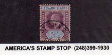 1905-1908 Leeward Islands SC 32 KEVII - Used - St. John's CDS Cancel*