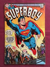 SUPERBOY 168 VG (DC Comics 1970) Neal Adams cover