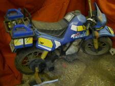 moto  sujet de manege forain  vintage