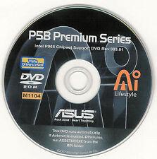 ASUS P5B PREMIUM VISTA Motherboard Drivers Installation Disk M1104