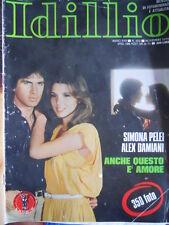 Rivista Fotoromanzi IDILLIO n°203 1979 - DISCRETO -   [D30]