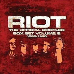 RIOT-THE OFFICIAL BOOTLEG BOXSET VOL 2 1980-1990 7 CDS