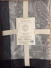 "Williams-Sonoma Alba Charcoal Jacquard Tablecloth 70"" X 90"" $149.95 NEW"