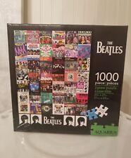 NEW Sealed Aquarius The Beatles 1000 Piece Jigsaw Puzzle, Singles Artwork
