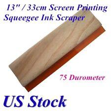 Us 13 Screen Printing Squeegee Ink Scraper Silk Stencil Printing 75 Durometer