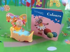 In The Night Garden Upsy Daisy in Bed Wheeled Toy Figure - Ideal Cake Topper!!!