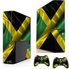 Jamaica sticker/skin Xbox 360e Consola Y Control Remoto pegatinas, xsk5