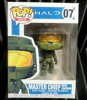 FUNKO Halo Pop! Vinyl Figure Master Chief with Cortana [07] with Pop Protector