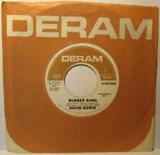 David Bowie – Rubber Band (1967) Deram – 45-DEM-85009 very good shape rare! 45