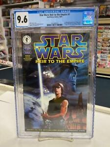 STAR WARS: HEIR TO THE EMPIRE #1 (1995) CGC 9.6 ~ GRAND ADMIRAL THRAWN!