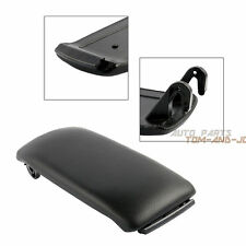 1X For Audi A4 S4 A6 Black PU Leather Center Console Armrest Cover Lid C5 NG001