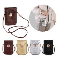Hot Mobile Phone Mini Bags Small Shoulder Bag Leather Women Handbag Clutch Purse