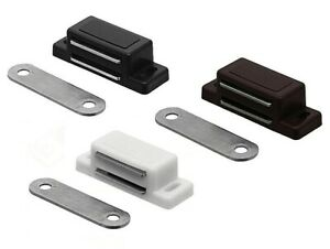Magnetschnäpper Türmagnet Möbelmagnet Magnetverschluss Kraft 3-4kg