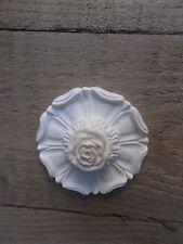 ORNATA decorativi bianco resina stampaggio Ornata Grande Tudor Rose