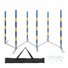 Dog Agility Training Equipment Weaving Poles Obstacle Course Competition Grade