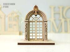 DOLLHOUSE WINDOW Miniature - Dollhouse Windows - Dollhouse accessories