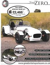 ROBIN HOOD GBS ZERO MODEL KIT CAR SALES 'BROCHURE' SHEET PLUS 'SNAP SHOT'
