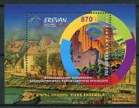 Armenia 2018 MNH La Francophonie Summit in Yerevan 1v M/S Architecture Stamps