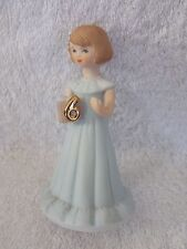 Growing Up Birthday Girls Porcelain Figurine 6 years Old