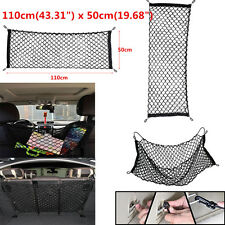 Car Trunk Rear Cargo Organizer Storage Elastic Mesh Net Holder 4 Hooks 50x110 cm