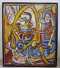 Patricia Hermine Sloane (1934-2001) Listed Mid-century artist exhibit art large