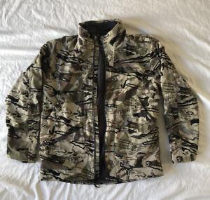 Under Armour Grit Jacket Barren Camo Men's Size XL 1320252-999 Hunting Jacket