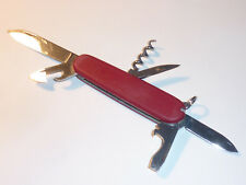 vintage VICTORINOX officier SUISSE couteau KNIFE messer CANIF swiss RED