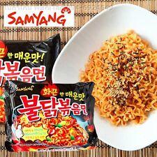 SAMYANG Ramen Hot Spaisy Chicken Flavor Stir Fried noodle Original Korea 5 Packs
