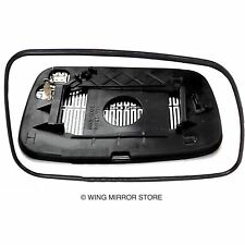 Right side for Toyota Yaris 1999-2005 heated wing door mirror glass