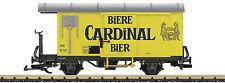 LGB 40284 - Gedeckter Güterwagen GK Cardinal Bier MOB