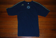 Men's Adidas Philadelphia Union Navy Blue Gold Soccer Jersey (Large)