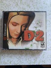 D2 (Sega Dreamcast, 2000) All 4 disk, No Booklet (free Dreamcast Game Included)
