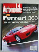 Automobile Magazine 5/1999 Mercedes S 500, Ferrari 360, Jaguar S-Type, Lexus