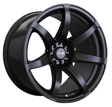 XXR 560 18x8.5 Rims 5x100/114.3 +35 Black Wheels (Set of 4)