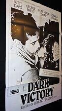 DARK VICTORY  !  humphrey bogart  affiche cinema