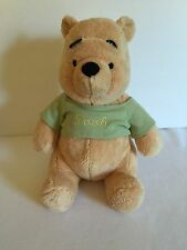 Disney Winnie The Pooh Plush Baby Rattle Stuffed Animal Toy 13 Inches