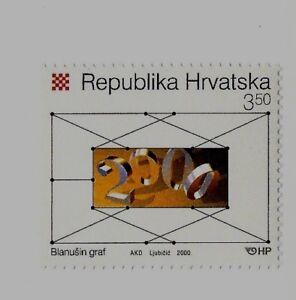 CROATIA SC 434 NH issue of 2000 - MATHEMATICS YEAR