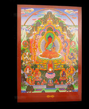 CARTE POSTALE TIBETAINE BOUDDHA MEDECINE AMITABHA  NEPAL 9287