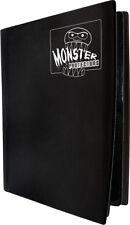 (10) BCW-MB-4P-MBK Black Trading Game Card Binder 4 Pocket Monster Protectors