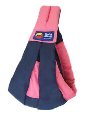Brand New Baba Sling Baby Carrier 2 Tone Navy & Pink Two Tone