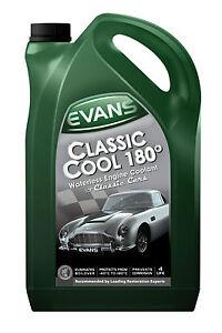 EVANS WATERLESS COOLANT. CLASSIC COOL 180 - 5 Litre - MG Midget