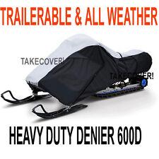 Deluxe Travel Snowmobile Cover Polaris HDSNMC-DLTPLR1X