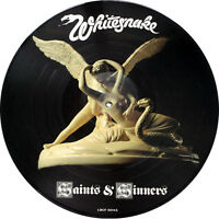 EXCELLENT! WHITESNAKE - SAINTS AND SINNERS VINYL LP PICTURE PIC DISC